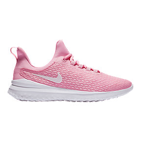 Nike Girls' Grade School Renewal Rival Shoes - Pink/White