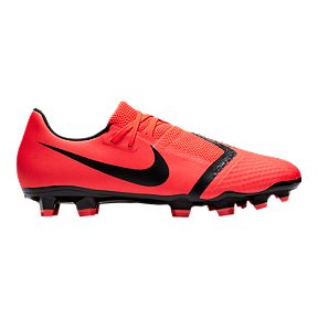 596e3a34c Nike Unisex Phantom Venom Academy Firm Ground Shoes - Red Black