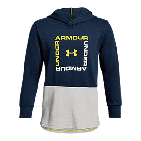Under Armour Boys Armour Fleece Big Logo Pullover Hoodie
