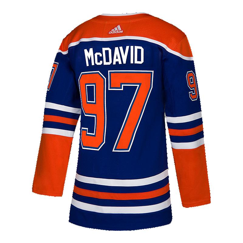 275c4e05c Edmonton Oilers adidas Authentic Connor McDavid Heritage Jersey ...