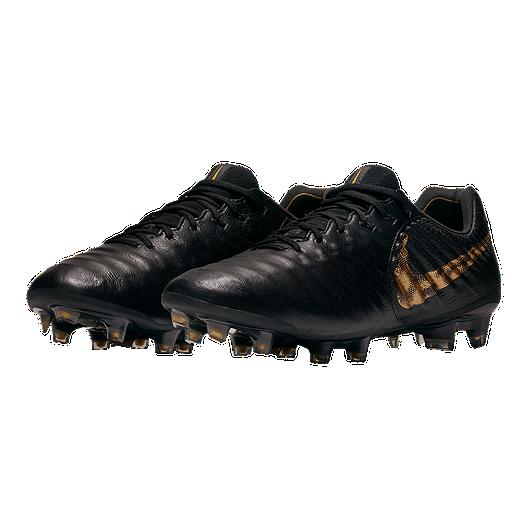 0c2a74287e8 Nike Men s Tiempo Legend 7 Elite FG Soccer Cleats - Black Gold. (0). View  Description