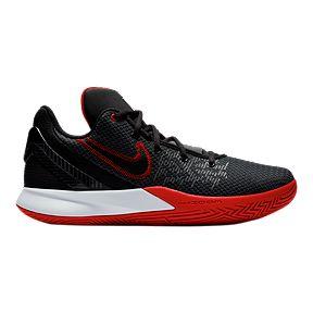 5c520d205ac Nike Men s Kyrie Flytrap II Basketball Shoes - Black White Red