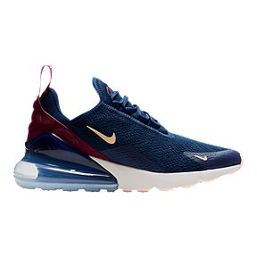 new product 46aa3 786cc Nike Women s Air Max 270 Shoes - Blue Void