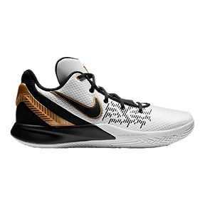 7c4d44e74714 Nike Men s Kyrie Flytrap II Basketball Shoes - White Gold Black