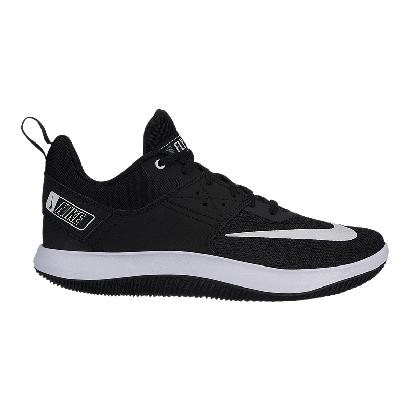 quality design 781a8 b2b73 Nike Men s Fly By Low II Basketball Shoes - Black White   Sport Chek