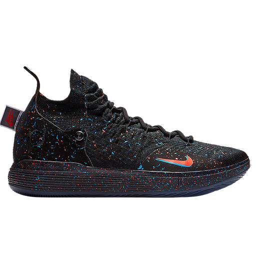 info for 6efed 05110 Nike Men s Zoom KD 11 Basketball Shoes - Black Orange Blue   Sport Chek