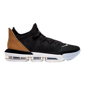 021ebac3a597a Nike Men s LeBron XVI Low Basketball Shoes - Black Gold