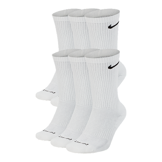 Nike Little Girls 6-Pairs Young Athletes Color Pop Ankle Socks