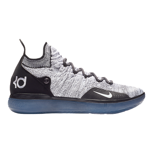 1fed011177a51 Nike Men's Zoom KD 11 Basketball Shoes - Black/White/Blue | Sport Chek