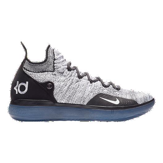 Nike Men's Zoom KD 11 Basketball Shoes BlackWhiteBlue