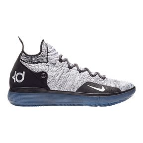 74188e94f873 Nike Men s Zoom KD 11 Basketball Shoes - Black White Blue