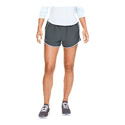 261fb408c4368b image of Under Armour Women's Fly By Running Shorts - Pitch Grey with  sku:332679602