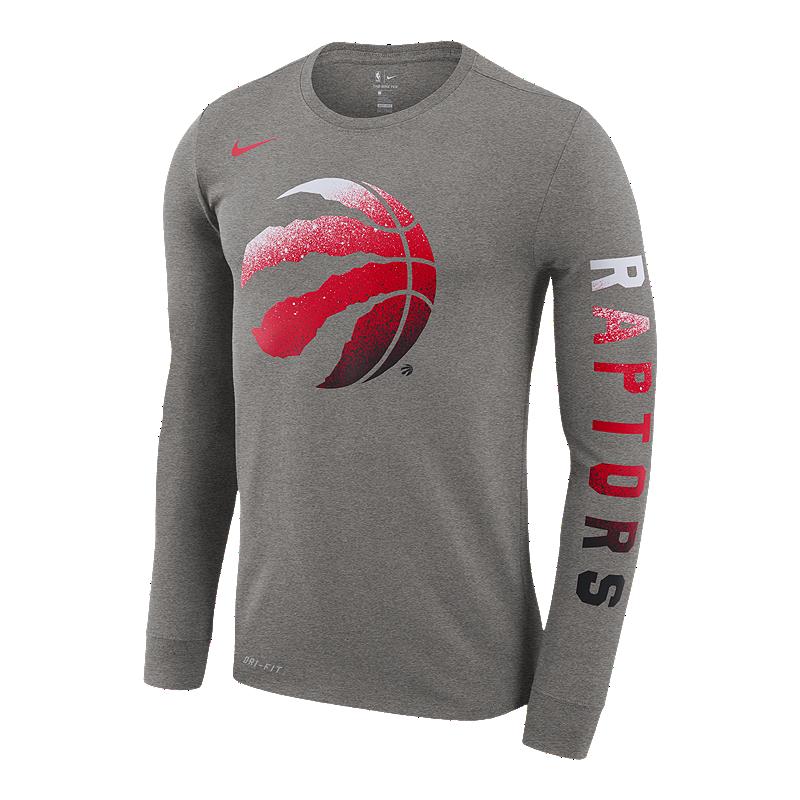 2fe59856 Toronto Raptors Men's Dri-FIT Logo Long Sleeve Tee | Sport Chek
