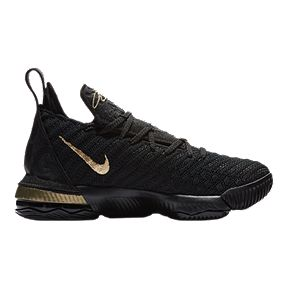 07a8fd737f77c0 Nike Boys  Grade School Lebron XVI I m King Edition Basketball Shoes - Black