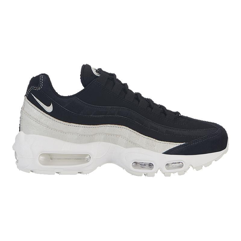 Nike Women s Air Max 95 Premium Shoes - Black White  5bd389b929