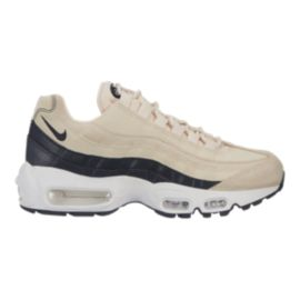 Nike Women's Air Max 95 Premium Shoes - Light Cream/Grey/White