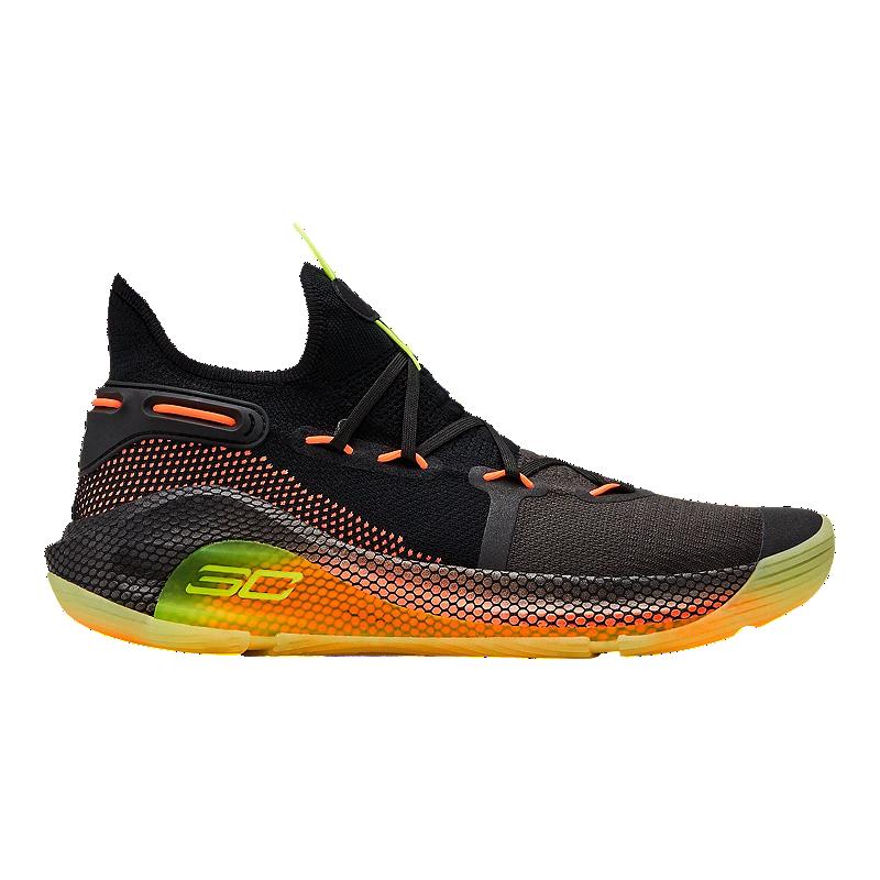 e1639f6e64db1 Under Armour Men's Curry 6 Basketball Shoes - Black | Sport Chek