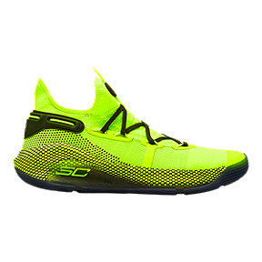 "Under Armour Men's Curry 6 ""All-Star"" Basketball Shoes - Green"