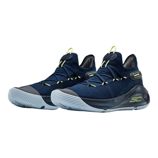 bb6dfc40ad65 Under Armour Curry 6 Basketball Shoes - Royal Blue