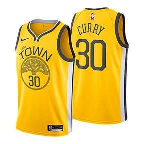 bb4e2521b Golden State Warriors Men s Nike NBA Earned Edition Curry Swingman Jersey