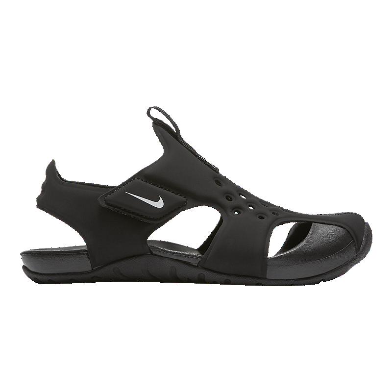 7bd3422a2 Nike Kids  Sunray Protect 2 Pre-School Sandals - Black White