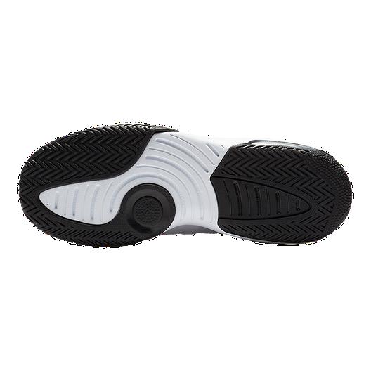 huge selection of a542a 1056b Jordan Kids' Max Aura Basketball Shoes - White/Black/Red ...