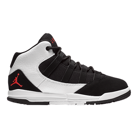 d043dac5cdb0c4 Jordan Toddler Max Aura Pre-School Basketball Shoes - White Black Red