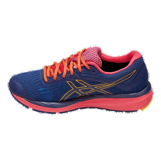 9d90696c ASICS Women's GEL-Cumulus 20 GTX Running Shoes - Indigo Blue/Amber