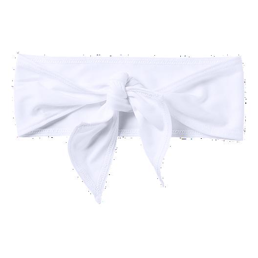 bb163da555 Under Armour Tie Headband - White