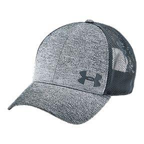 b91a06431d5 Under Armour Men's Vanish Trucker Hat - Grey
