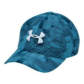 size 40 dab47 f276a Under Armour Boys  Printed Blitzing 3.0 Hat - Blue