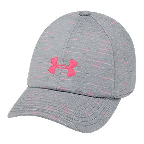 reputable site 37605 c1e7d Under Armour Girls  Space Dye Renegade Hat - Steel