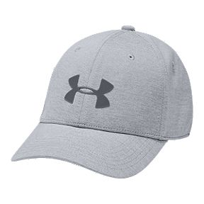 outlet store 1bc7a 6a1c0 Under Armour Boys  Twist Closer Stretch Fit Hat - Grey