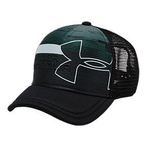 the latest 4593e dd77b Under Armour Boys  Sportstyle Trucker Hat - Black