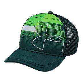1eacdb8c4df204 Under Armour Boys' Sportstyle Trucker Hat - Batzik