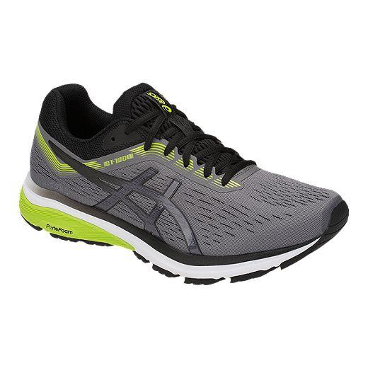 ajo Transformador La cabra Billy  ASICS Men's GT-1000 7 2E Running Shoes - Grey/Black | Sport Chek