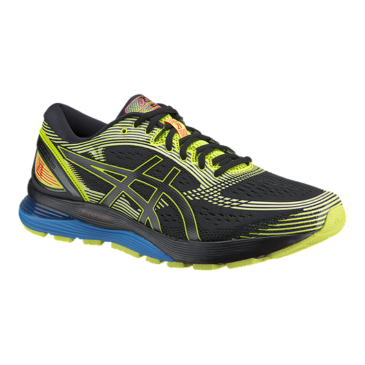 42b3140a ASICS Men's Gel Nimbus 21 SP Running Shoes - Black/Yellow