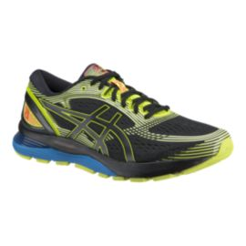 ASICS Men's Gel Nimbus 21 SP Running Shoes - Black/Yellow