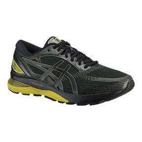 d679dc4b24 ASICS Men s Gel Nimbus 21 Running Shoes - Black Yellow