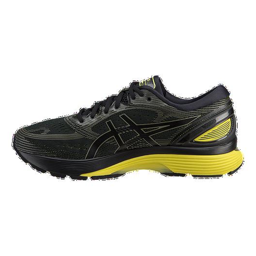 6b2a72e62a3 ASICS Men's Gel Nimbus 21 Running Shoes - Black/Yellow