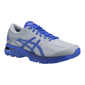 reputable site f7bb8 27a3c ASICS Men s Gel Kayano 25 LS Running Shoes - Grey Blue