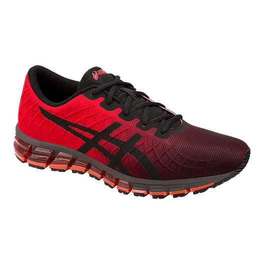 108e083639 ASICS Men s Gel Quantum 180 4 Running Shoes - Red Black