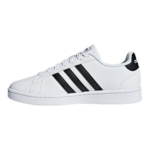 adidas Women's Grand Court Shoes - White/Core Black