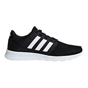 online store d7494 552ac adidas Women s Cloudfoam QT Racer Shoes - Core Black White