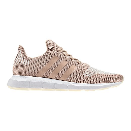 Adidas Women S Swift Run Shoes Ash Pearl Off White Sport Chek