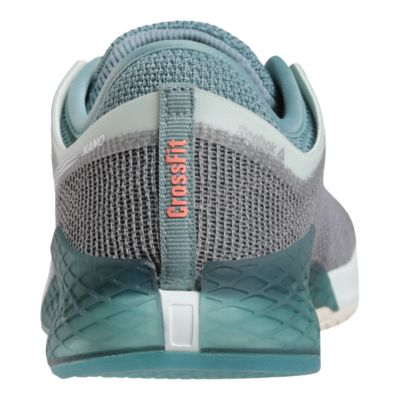 wholesale dealer a6b34 21a3b Reebok Women s CrossFit Nano 9 Training Shoes - Grey Teal - COOL  SHADOW STORM