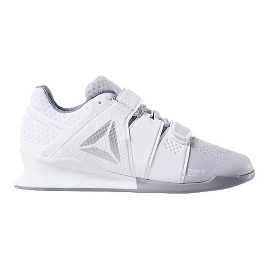 White Reebok Legacy Lifter Womens Weightlifting Shoes