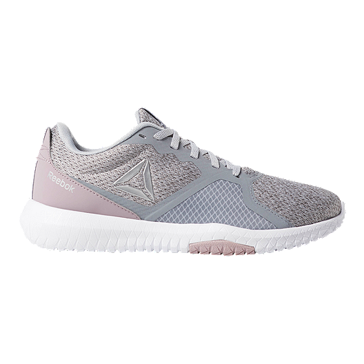 low priced bac5d f2c8d Reebok Women s Flexagon Force Training Shoes - Grey Pink   Sport Chek