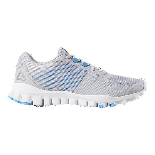 buy online d9a00 12606 Reebok Women s Realflex Train 5.0 Training Shoes - Grey Blue   Sport Chek