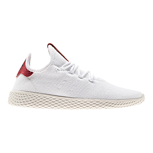 75a96dd00 adidas Women s Pharrell Williams Tennis Hu Shoes - White Collegiate  Burgundy